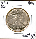 United States: 1945 Half Dollar #3