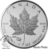 Canada: 2016 $5 ANA California Privy Maple Leaf Silver Coin