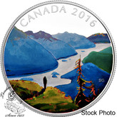 Canada: 2016 $20 Canadian Landscape Series Reaching The Top Silver Coin