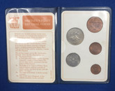 United Kingdom 1968 Britain's First Decimal Coins