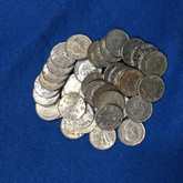 Canada: 1944 5 Cent Victory Nickel (40 pcs) Average Circulated Condition