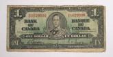 Canada: 1937 $1 Bank Of Canada Gordon H/A