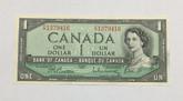 Canada: 1954 $1 Beattie-Rasminsky F/P