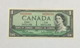 Canada: 1954 $1 Beattie-Rasminsky M/P