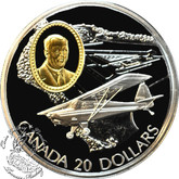 Canada: 1995 $20 Fleet 80 Canuck Aviation Coin 2-1