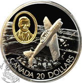 Canada: 1995 $20 DHC-1 Chipmunk Aviation Coin 2-2