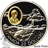 Canada: 1999 $20 de Havilland DHC-8 Dash 8 Aviation Coin 2-10