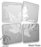 Canada: 2017 $3 Maple Leaf Quartet Silver Coins
