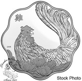 Canada: 2017 $15 Year of the Rooster Lunar Lotus Silver Coin