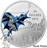 Canada: 2016 $20 The Dark Knight Silver Coin - DC Comics™ Orignals