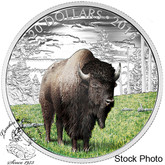 Canada: 2016 $20 Bison Silver Coin