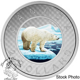 Canada: 2016 $2 Big Coin Series Coloured Silver Coin
