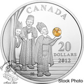 Canada: 2012 $20 Three Wise Men Pure Silver Coin