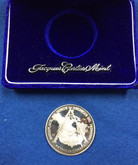 Canada: 1874 - 1974 Petrolia Canada .9995 Silver Medal 30 Grams Lot #3