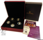 Canada: 2008 $15 Vignettes of Royalty 5 Sterling Silver Coin Set
