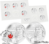 Canada: 2012 25 Cent Tecumseh Coin 10-Pack
