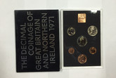 United Kingdom: 1971 The Decimal Coinage of Great Britain and Northern Ireland Coin Set