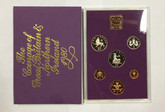 United Kingdom: 1980 The Coinage of Great Britain and Northern Ireland Coin Set