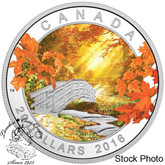 Canada: 2016 $20 Autumn Tranquility Silver Coin