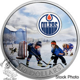 Canada: 2017 $10 Passion to Play: Edmonton Oilers Silver Coin