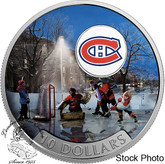 Canada: 2017 $10 Passion to Play: Montreal Canadiens Silver Coin