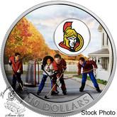 Canada: 2017 $10 Passion to Play: Ottawa Senators Silver Coin