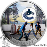 Canada: 2017 $10 Passion to Play: Vancouver Canucks Silver Coin