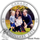 Canada: 2016 $20 A Royal Tour Silver Coin