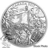 Canada: 2017 $3 The Spirit of Canada Silver Coin
