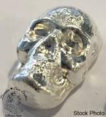 1 oz Pure Silver Skull by Beaver Bullion