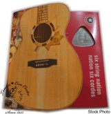 Canada: 2009 50 Cent Six String Nation Guitar Triangle Coin