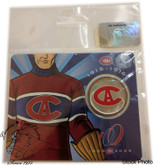 Canada: 2009 50 Cent Montreal Canadiens Centennial Series 3 of 6 Coin