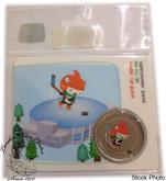 Canada: 2010 50 Cent Vancouver Olympics Ice Hockey Miga Mascot Coin