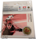 Canada: 2006 25 Cent Vancouver Olympics Cindy Klassen Sport Card with Coin