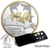 Canada: 2017 150th Anniversary of Canada Our Home and Native Land Proof Coin Set