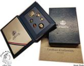 United States: 1987 Prestige Proof Coin Set