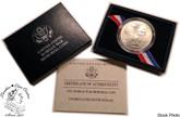 United States: 1991 $1 Korean War Silver Uncirculated Dollar