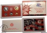 United States: 2003 Silver Proof Coin Set