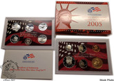 United States: 2005 Silver Proof Coin Set