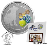 Canada: 2017 25 Cents Love My Dog Coin + Picture Frame!