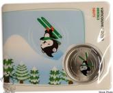 Canada: 2010 50 Cent Vancouver Olympics Aerials Miga Mascot Coin
