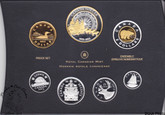 Canada: 2013 Proof Set, 100th Anniversary of Arctic Expedition 1913-1916