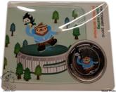 Canada: 2010 50 Cent Vancouver Olympics Figure Skating Quatchi Miga Mascot Coin