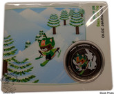Canada: 2010 50 Cent Vancouver Olympics Paralympics Alpine Skiing Mascot Coin