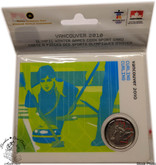 Canada: 2007 25 Cent Vancouver Olympics Curling Sport Card with Coin