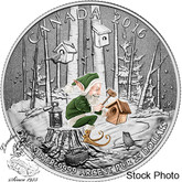 Canada: 2016 $25 for $25 Woodland Elf Silver Coin
