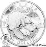 Canada: 2013 $25 The Beaver O Canada Series 1 oz Pure Silver Coin
