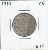 Canada: 1910 25 Cents VG Lot#11