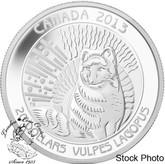 Canada: 2013 $20 Arctic Fox Pure SIlver Coin