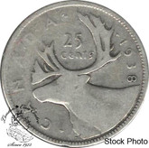 Canada: 1938 25 Cents VG